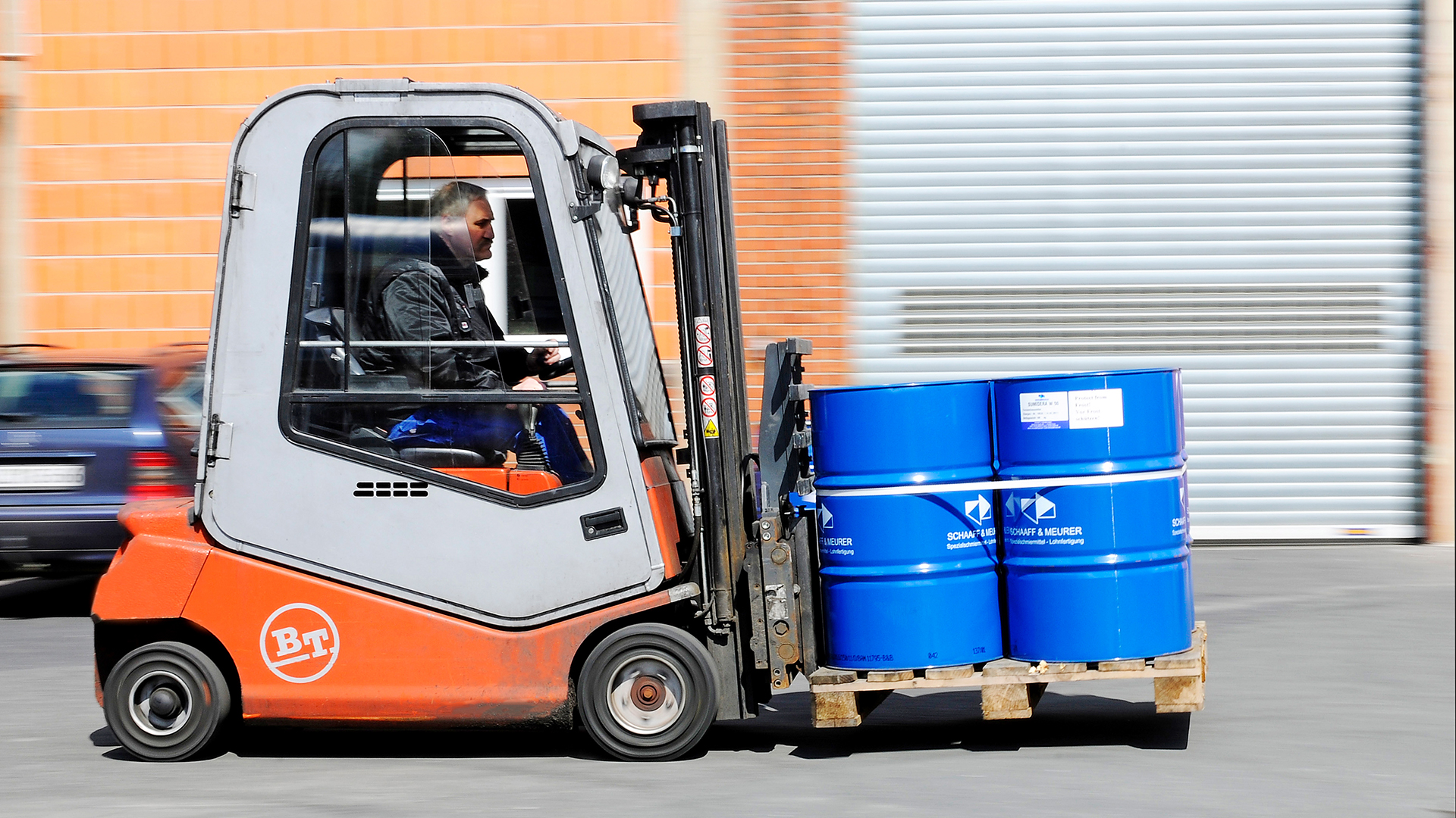 Service rund um Schmiermittel von Schaaff & Meurer GmbH